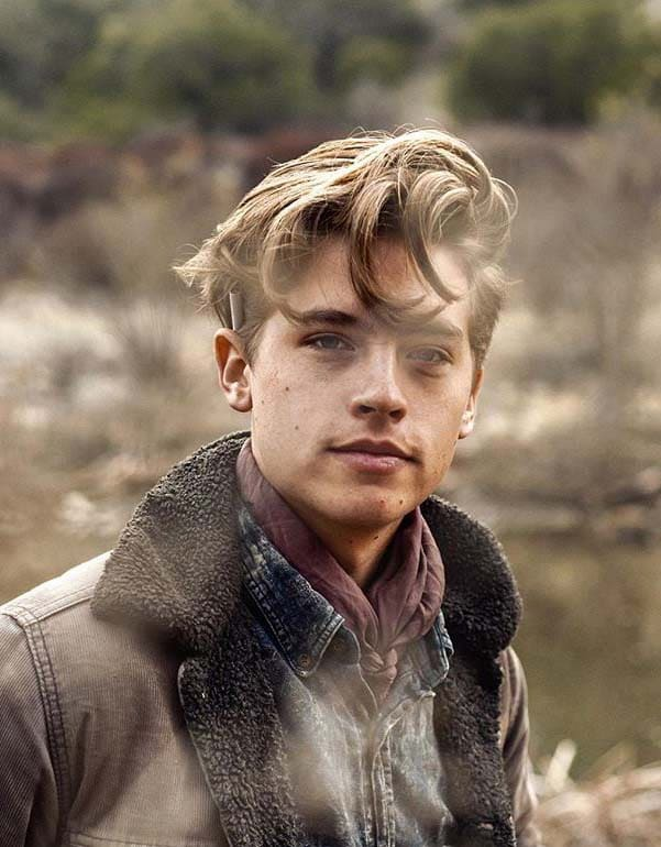 cole sprouse Haircut 2018