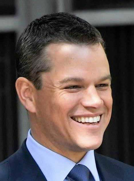 matt damon Haircut 2018