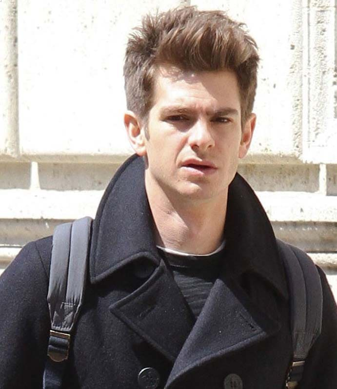 Andrew Garfield haircut 2018