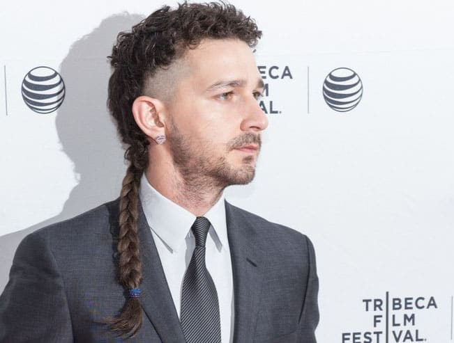 shia labeouf Haircut 2018