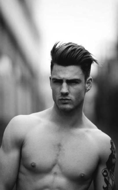 Men Long Hair on Top 2018