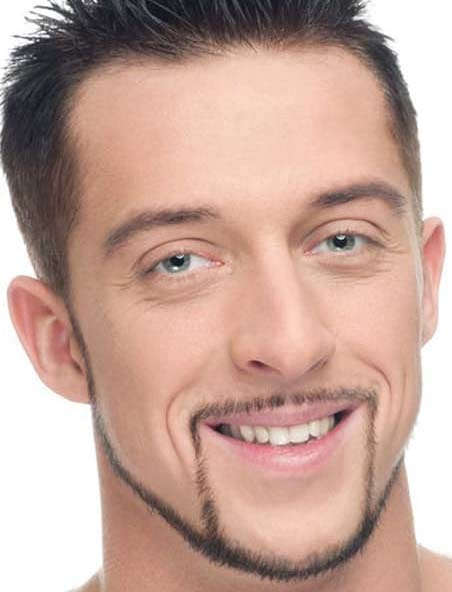 Pencil Beard Styles for Men 2018