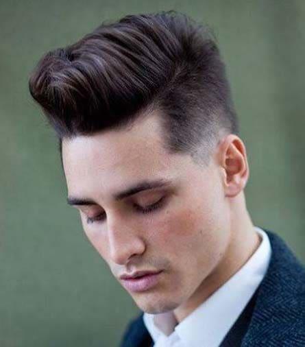 Retro Short Quiff Hairstyles for Men 2018