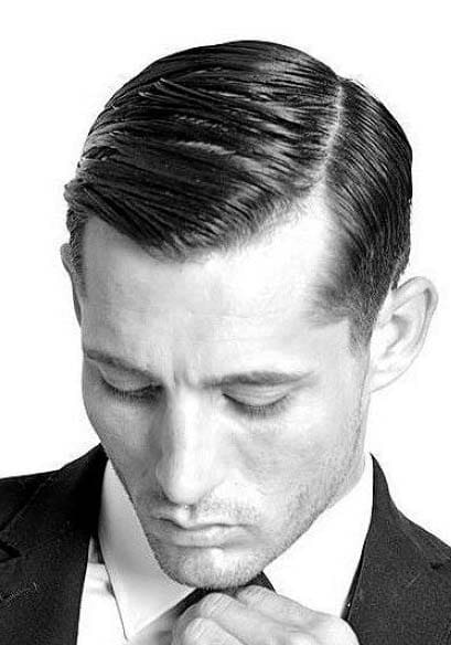 astonishing 40s mens hairstyle 2018 - Men\'s Haircut Styles