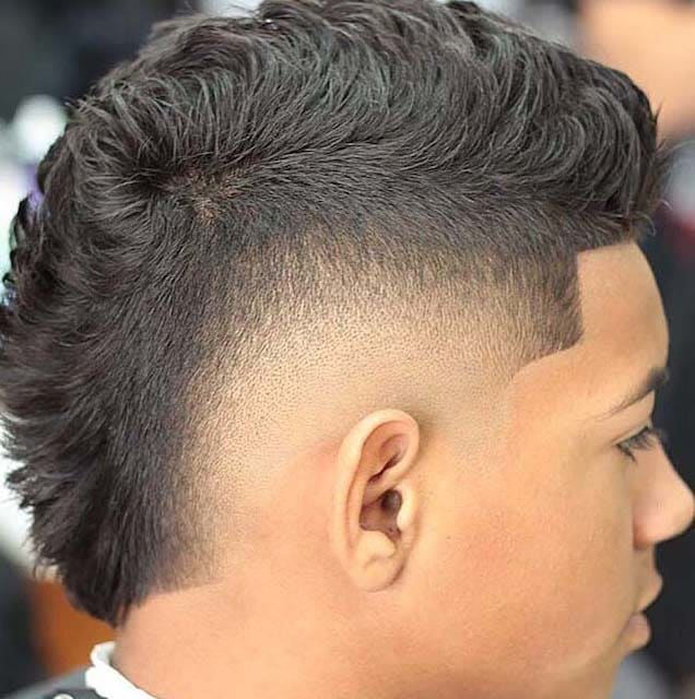 astonishing Faux Hawk Fade Haircuts 2018 - Men\'s Haircut Styles