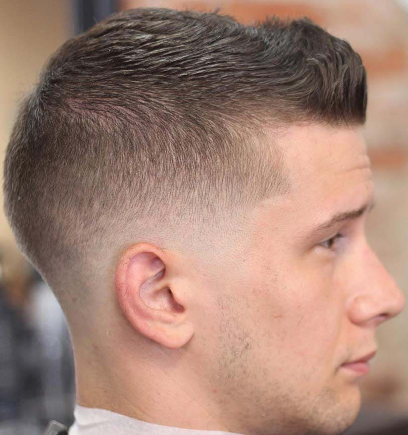 Astonishing Military Fade Haircuts 2018 Mens Haircuts Mens