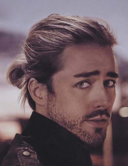 Ponytail Hairstyles for Men 2018