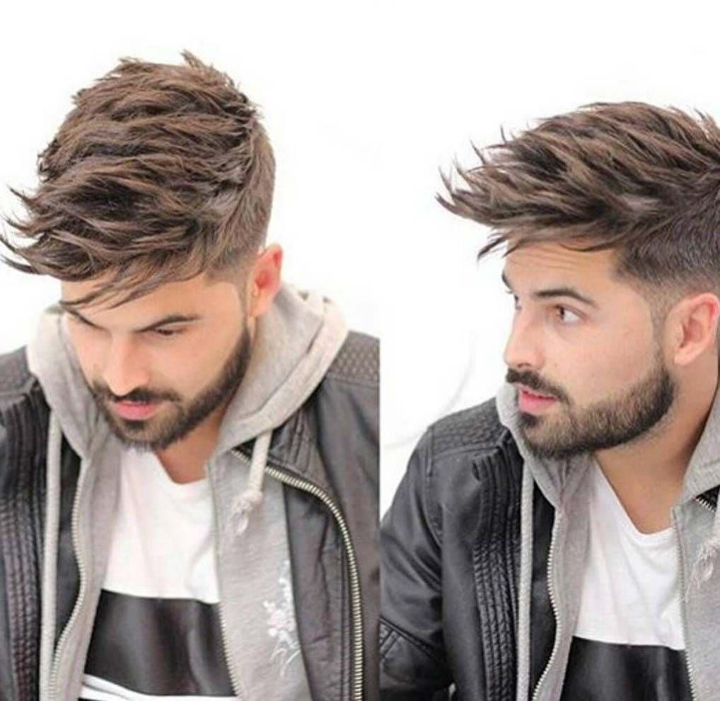 awesome messy hairstyles men 2018 - Men\'s Haircut Styles
