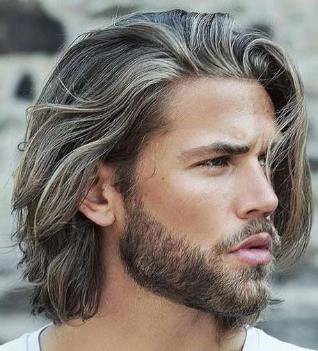 Long Loose Hairs for men 2018