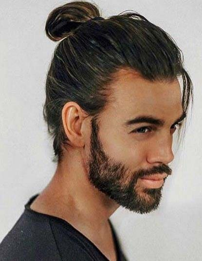 Best Ponytail Hairstyles For Men 2018 Men S Haircut Styles