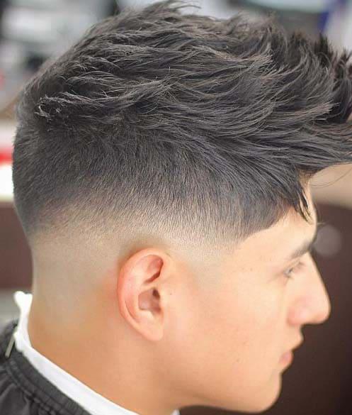Faux Hawk Fade Haircuts 2018