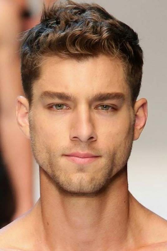 messy hairstyles men 2018
