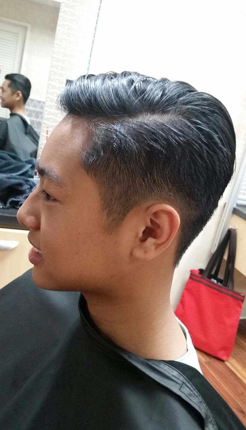 side part undercut