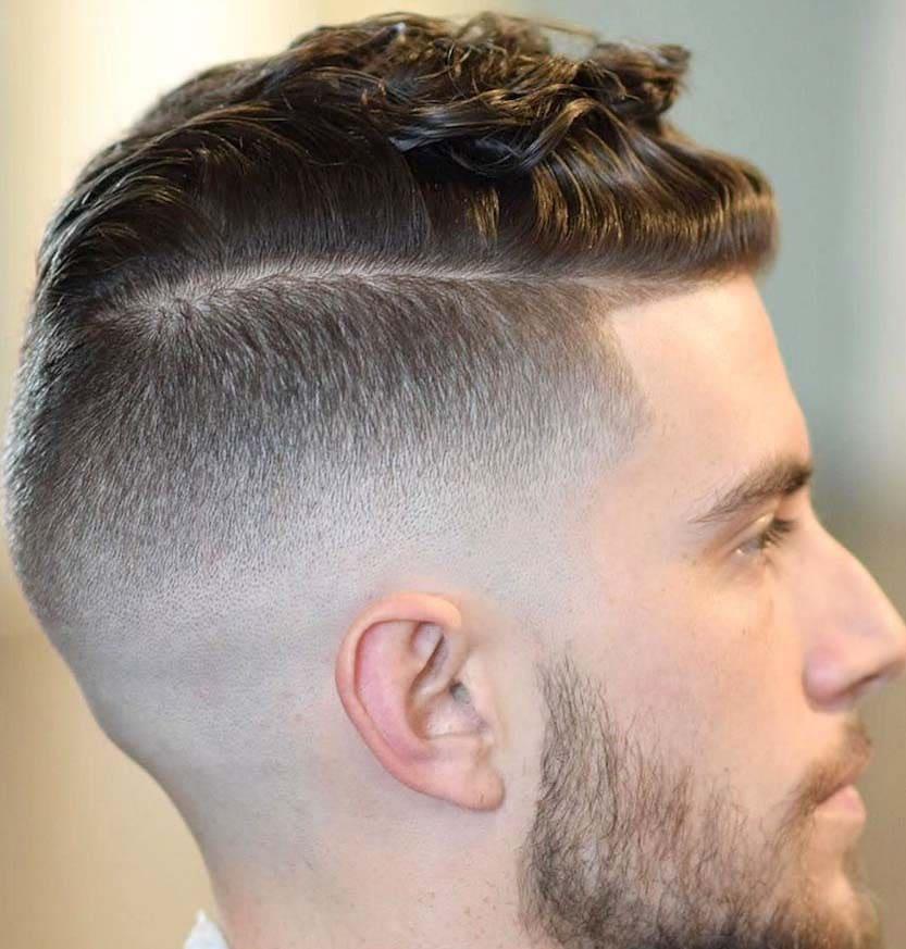 High Fade Slicked Hairs 2018