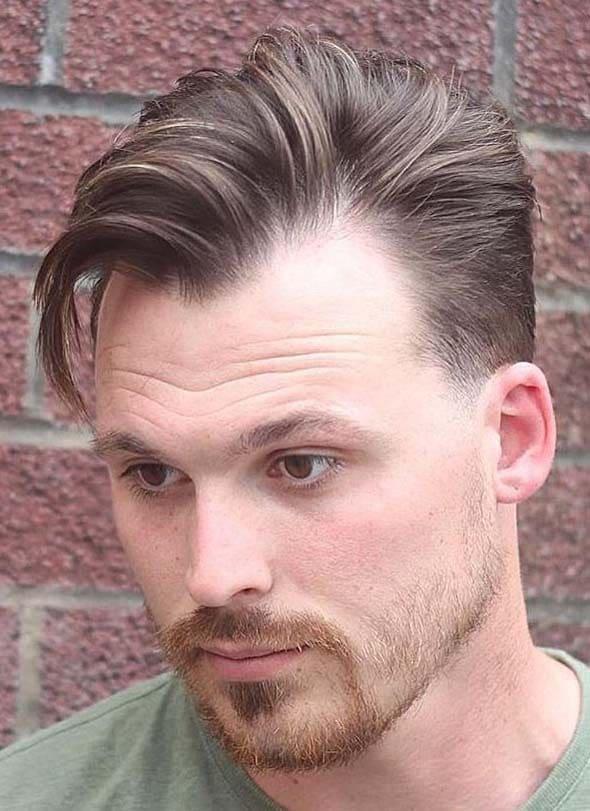 Widows Peak Hairstyles for Men 2018