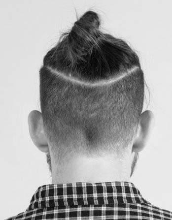 japanese samurai man bun haircuts 2018