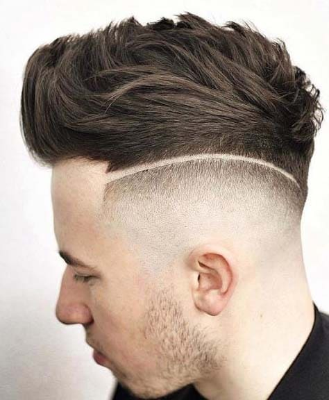 Undercut Faux Hawk Hairstyles 2018