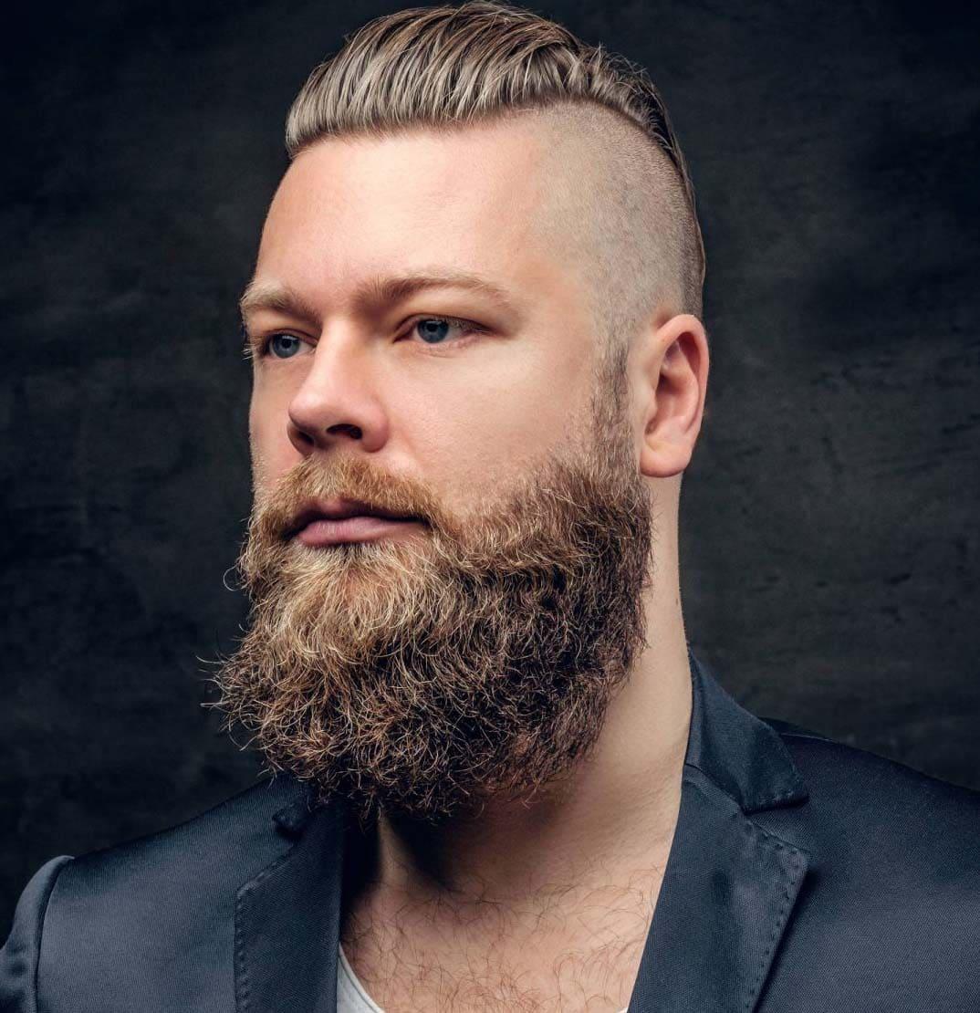 undercut with beard 2018
