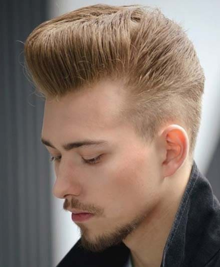 Retro Short Quiff Hairstyles for Men 2018