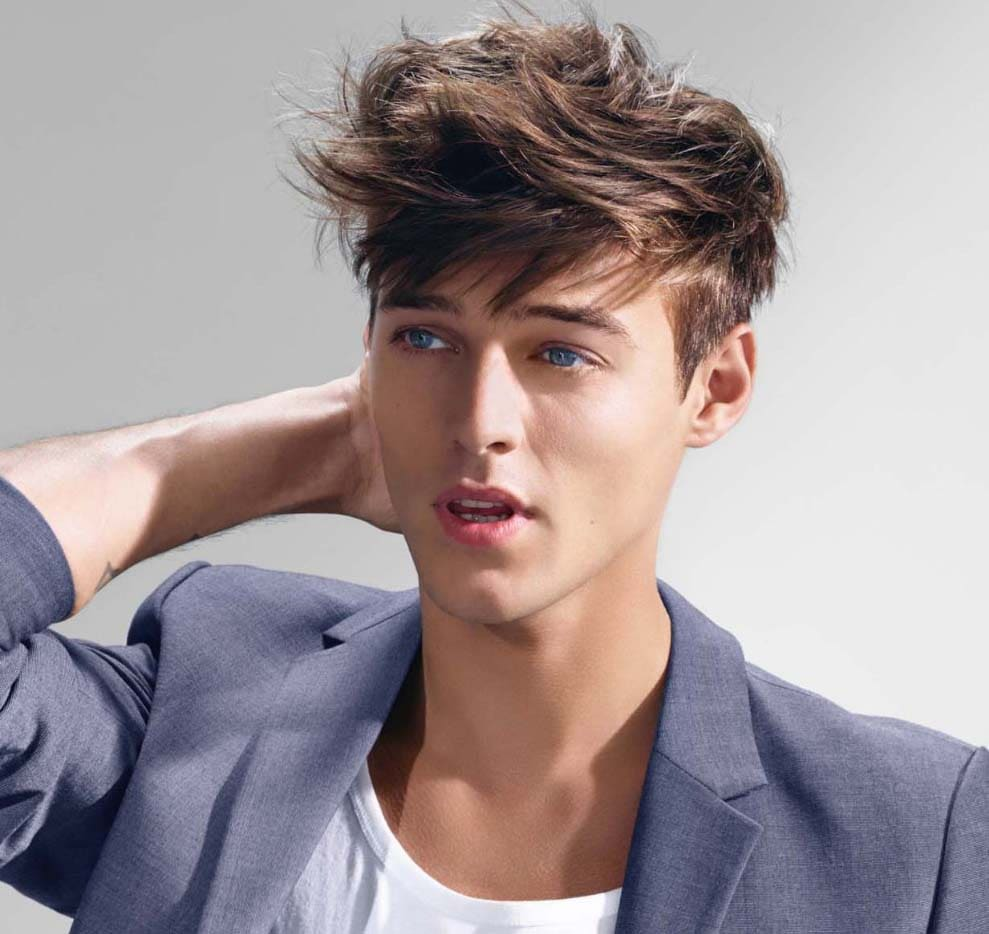 Impressive Messy Hairstyles Men 2018