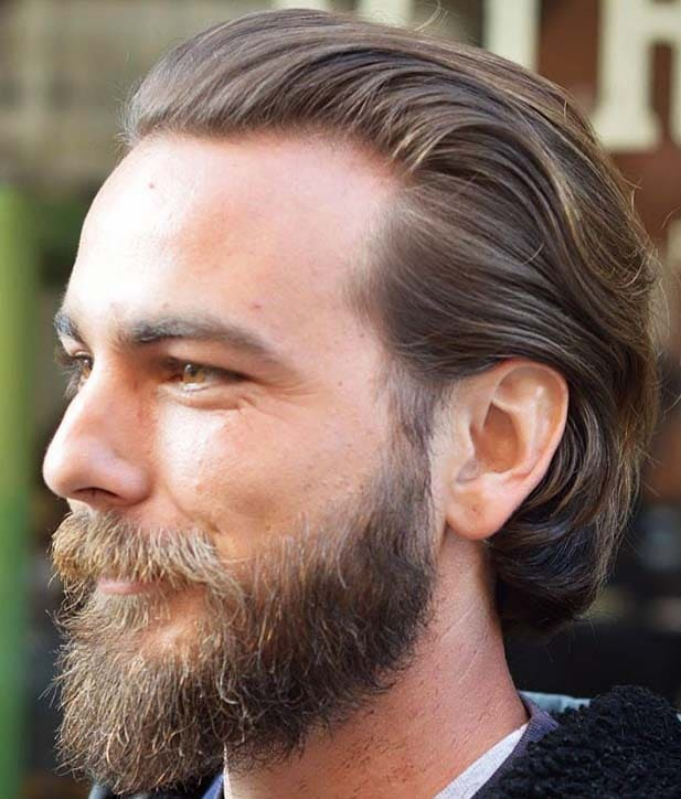 chic length hairstyles for men 2018