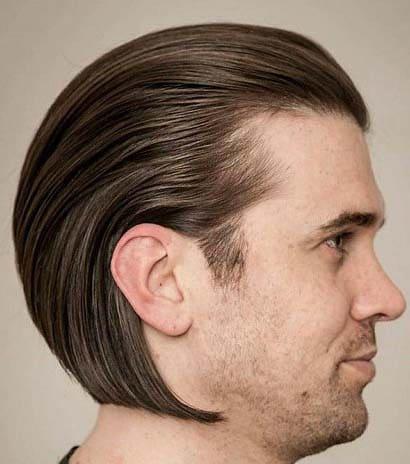 Slick Back Hipster Hairstyles for Men 2018