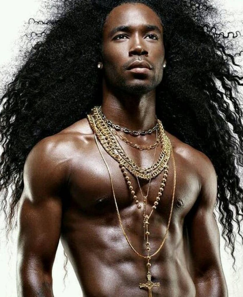 Long Hairstyles for Black Men 2018