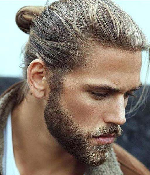 Modish Ponytail Hairstyles For Men 2018 Men S Haircut Styles