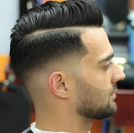 Side Part Pompadour 2018