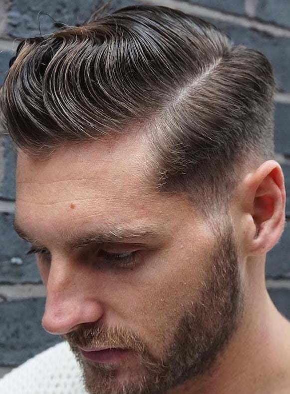 messy waves haircut for men 2018