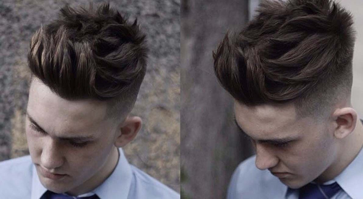 messy hairstyles men 2018