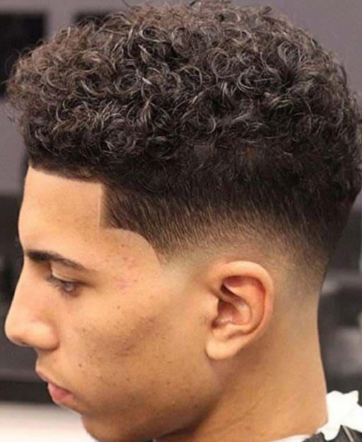 Curly Fade Haircuts 2018