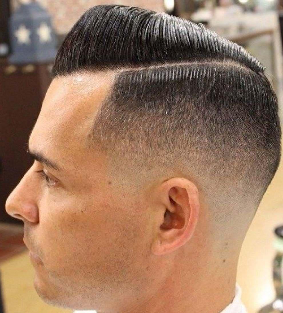 military fade haircuts 2018