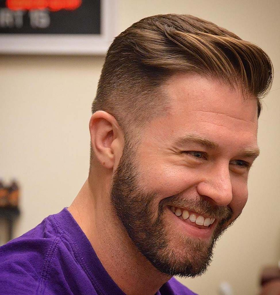 Captivating Stunning Gentleman Haircut 2018