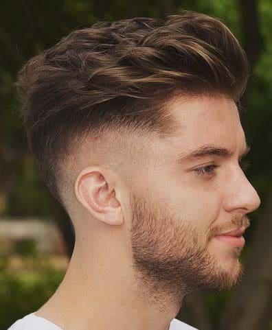 Stylish Retro Short Quiff Hairstyles For Men 2018 Men S Haircut Styles
