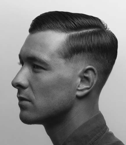 supreme 40s mens hairstyle 2018 - Men\'s Haircut Styles