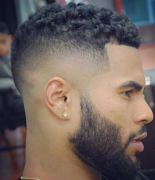 Mohawk Hairstyles for Black Men 2018