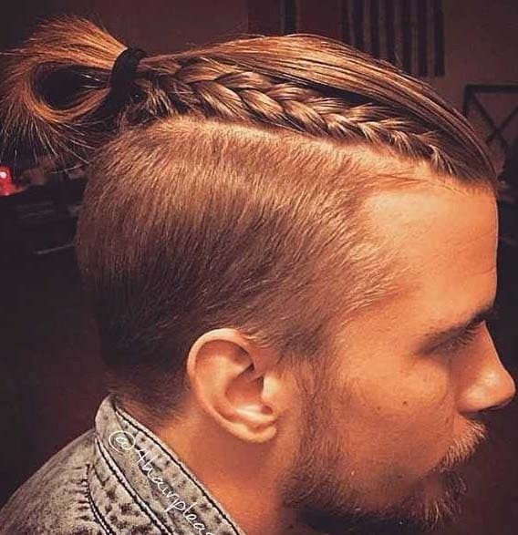 Supreme Ponytail Hairstyles For Men 2018