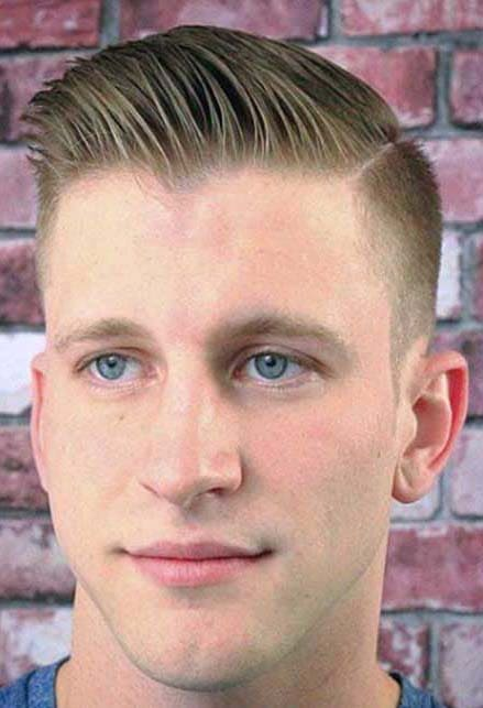 Shaved Sides Hairstyles For Men 2018