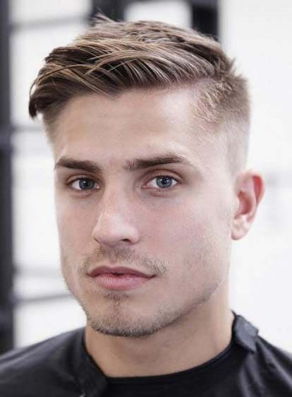 Wonderful Hairstyles For Men With Big Forehead 2018 Men S Haircut
