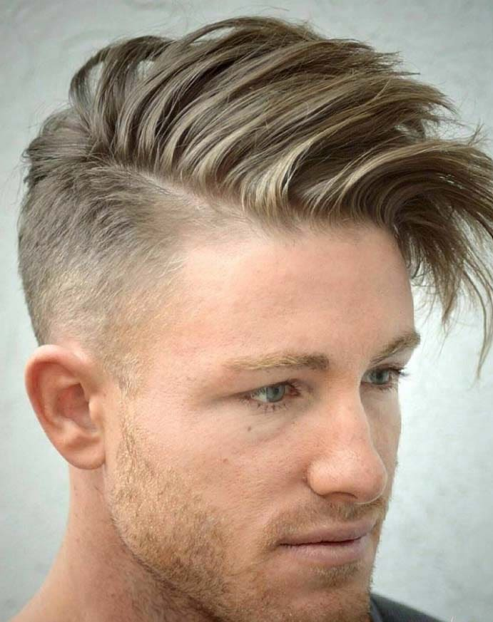 30 Trendy Shaved Sides Hairstyles For Men 2018 Mens Haircuts
