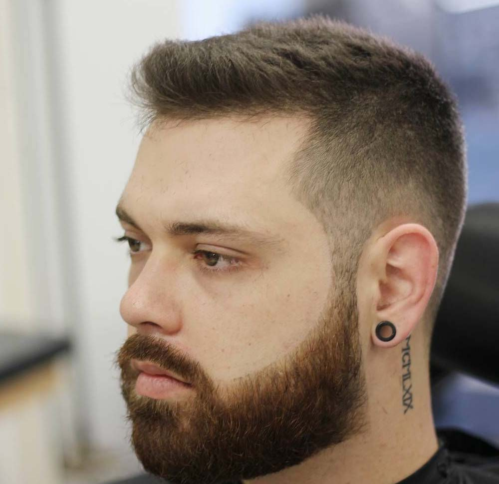 Astonishing Beard Styles For Men With Short Hair 2018
