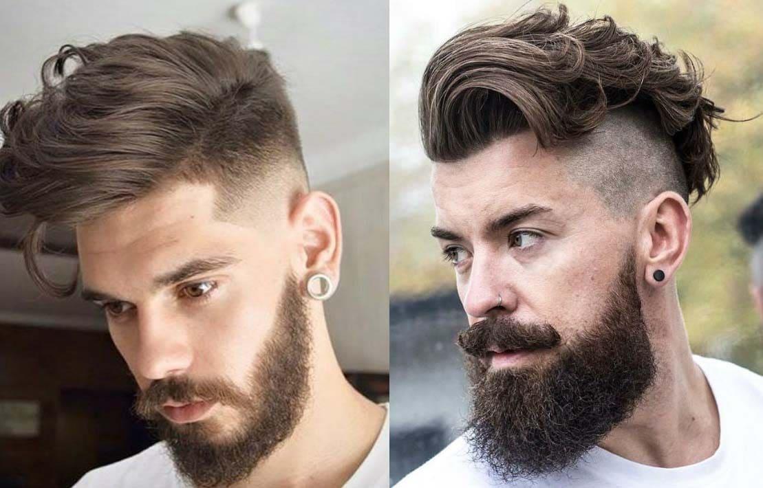 curly beard styles 2018