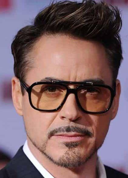 tony stark beard styles 2018