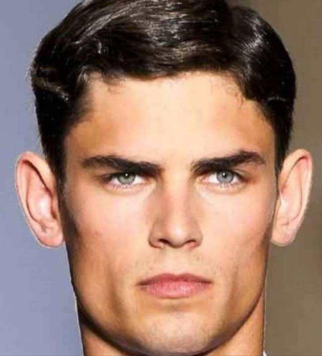 haircuts for men with big ears 2018