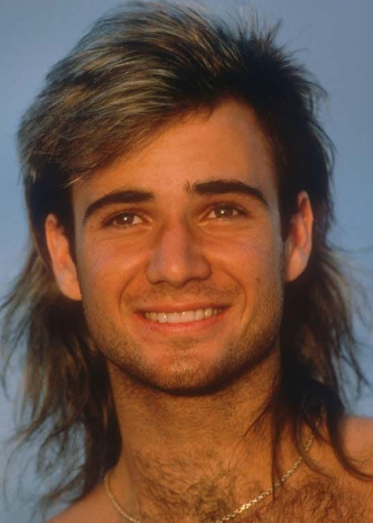 Andre Agassi Hairstyles 2018