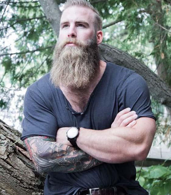 Fabulous Long Beard Styles 2018 Men S Haircut Styles
