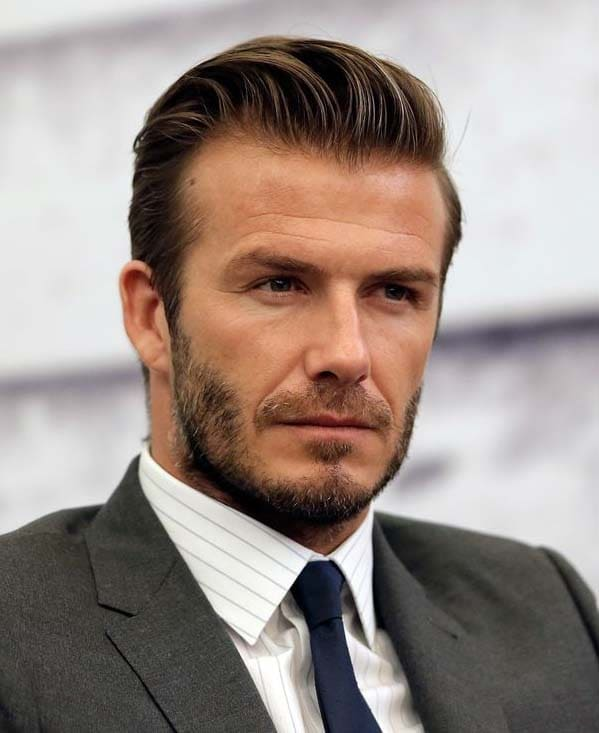 David Beckham Beard Styles 2018