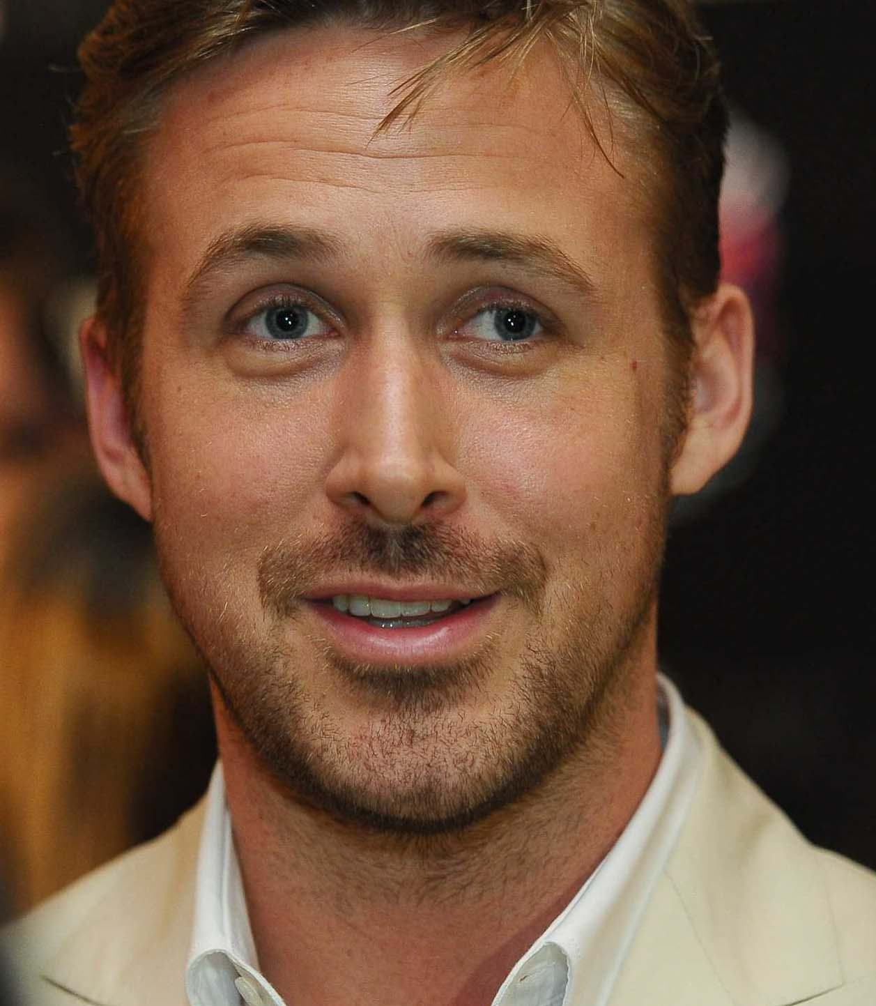 Ryan Gosling Beard Styles 2018
