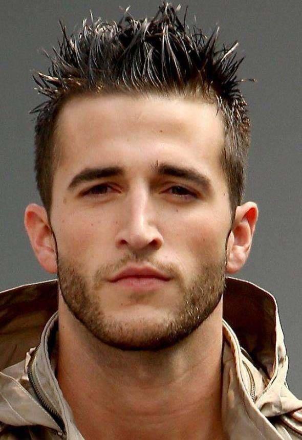 beard styles for men with short hair 2018